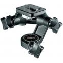 ROTULA 3 WAY MANFROTTO 0560 CON ZAPATA