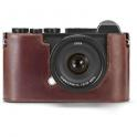 LEICA PROTECTOR-CL LEATHER CASE MARRON