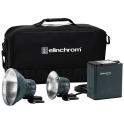 Elinchrom ELB 500 TTL Dual To Go - Kit Flash portátil doble