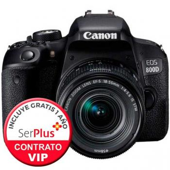 CANON EOS 800D + EF-S 18-55MM F/4-5.6 IS STM - PREVENTA - PREORDER - RESERVA