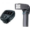 Nissin MG10 +Air-10S para Sony - Flash de mano con soporte