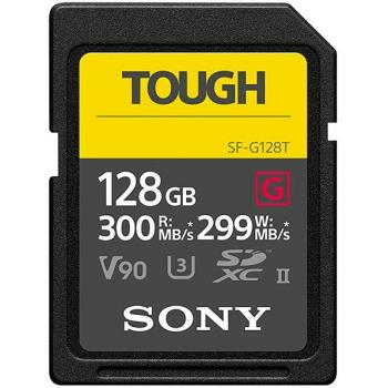 Sony TOUGH 128Gb - Tarjeta de memoria SD UHS-II SF-G128T
