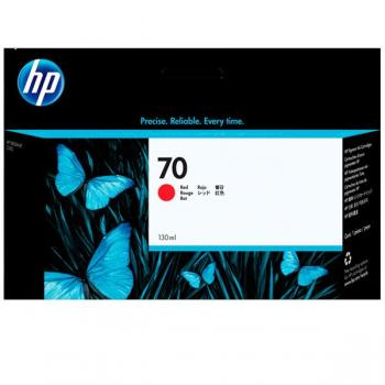 Tinta HP 70 cartucho rojo 130ml. C9456A