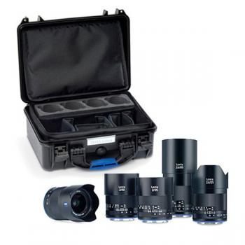 Zeiss Loxia KIT en Maleta: 21, 25, 50, 85 y Lensgear Mini (5)