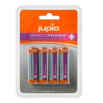 BATERIA RECARGABLE JUPIO DIRECT POWER PLUS AA NI JRB-AADPP