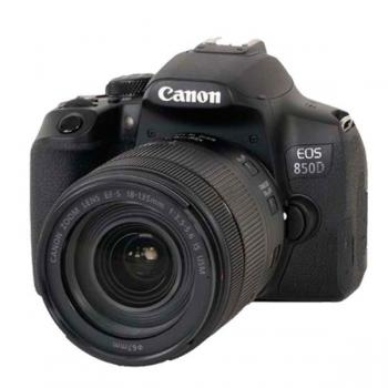 Canon EOS 850D + 18-135mm IS STM - Vista frontal