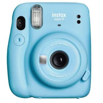 Fuji Instax Mini 11 Sky Blue - Vista frontal