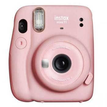 Fuji Instax Mini 11 Blush Pink  Vista frontal