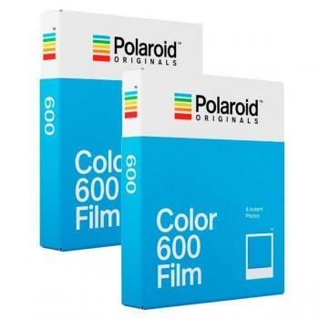 Polaroid Color Film 600 (Doble Pack) - el encanto de las polaroids de toda la vida