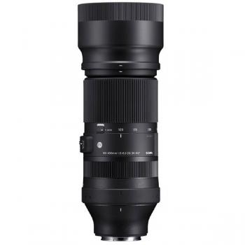 Sigma 100-400 mm. F5-6.3 DG DN OS Contemporary para Sony E-mount - vista vertical