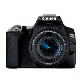 Canon EOS 250D Negra + EF-S 18-55mm IS STM