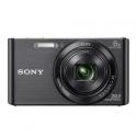SONY W830 NEGRA + FUNDA + 8GB (20.1MPX-8XZOOM-TACTIL-FULHD)