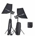 KIT 2 FLASH ELINCHROM BRX500 TO GO